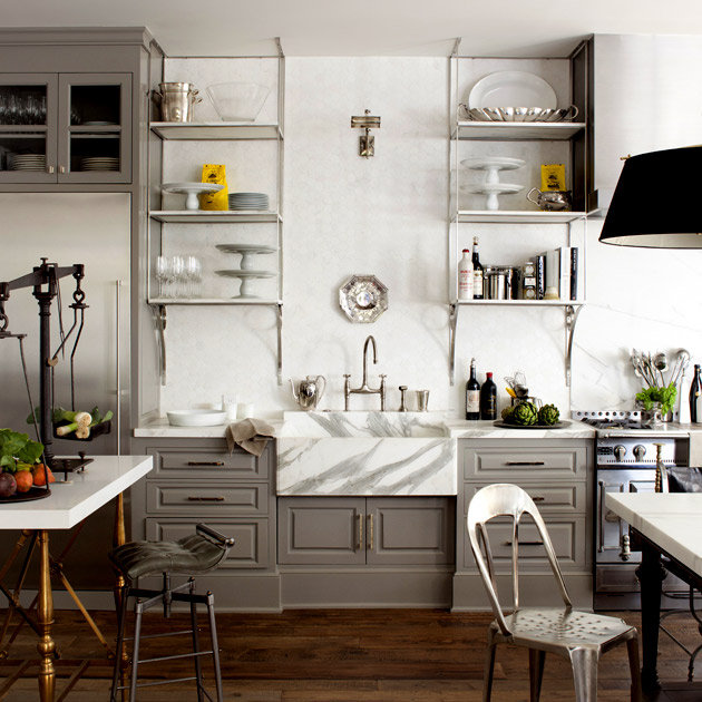 Kitchcen: TROVE INTERIORS: House Of Windsor: Gwyneth Paltrow & Chris