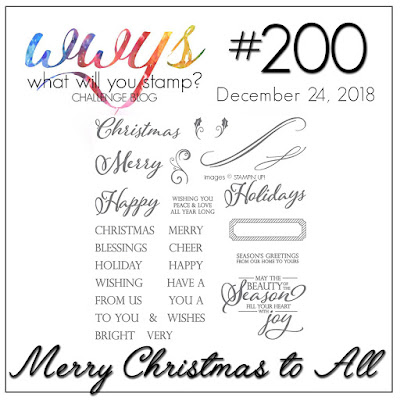 Jo's Stamping Spot - What Will You Stamp? Challenge #200