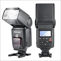 NEEWER NW680/TT680 E-TTL スピードライト ストロボ・フラッシュ ハイスピードシンクロ Canon 5D Mark II/7D Kiss X6i X5 X50 X4 X3 X2 Digital X 60D/50D/40D/30DなどのキャノンDSLRカメラに対応 【並行輸入品】