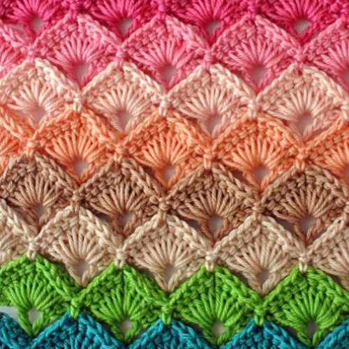 Crochet Box Stitch - Free Pattern