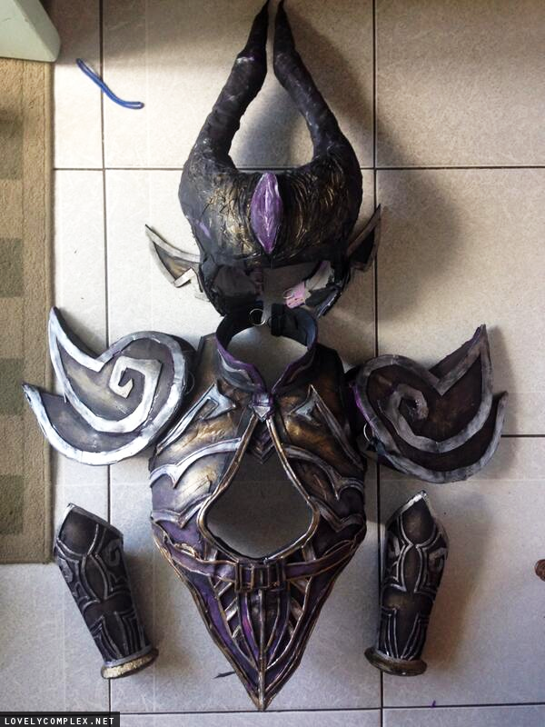 Syndra (league of legends) completed cosplay sachie.