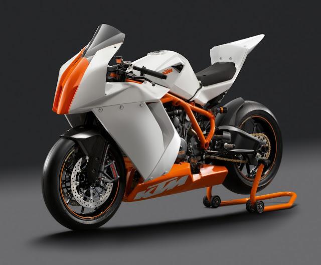 racing caf ktm rc8 r track 2012. Black Bedroom Furniture Sets. Home Design Ideas