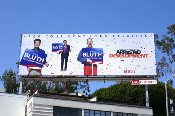 Arrested Development 2018 Emmy FYC billboard