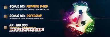 Bandar Judi Domino Online Indonesia Terbesar Bonus deposit member baru dan member lama
