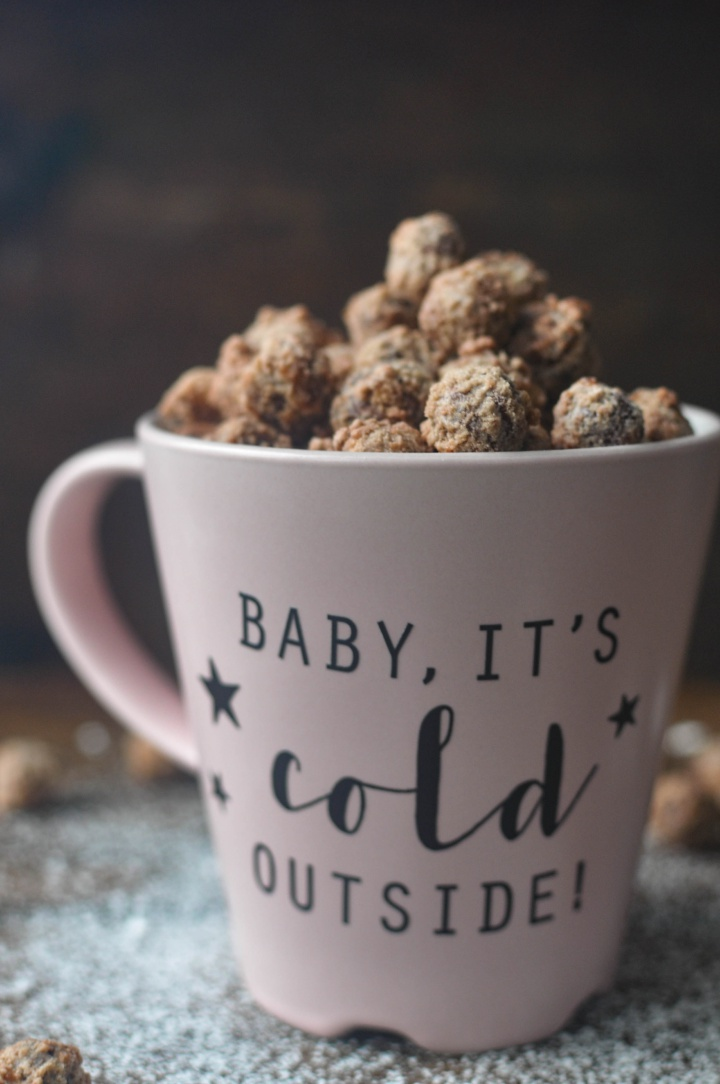 the taste of Christmas: spiced sugar roasted hazelnuts (and they're gluten free, too!)
