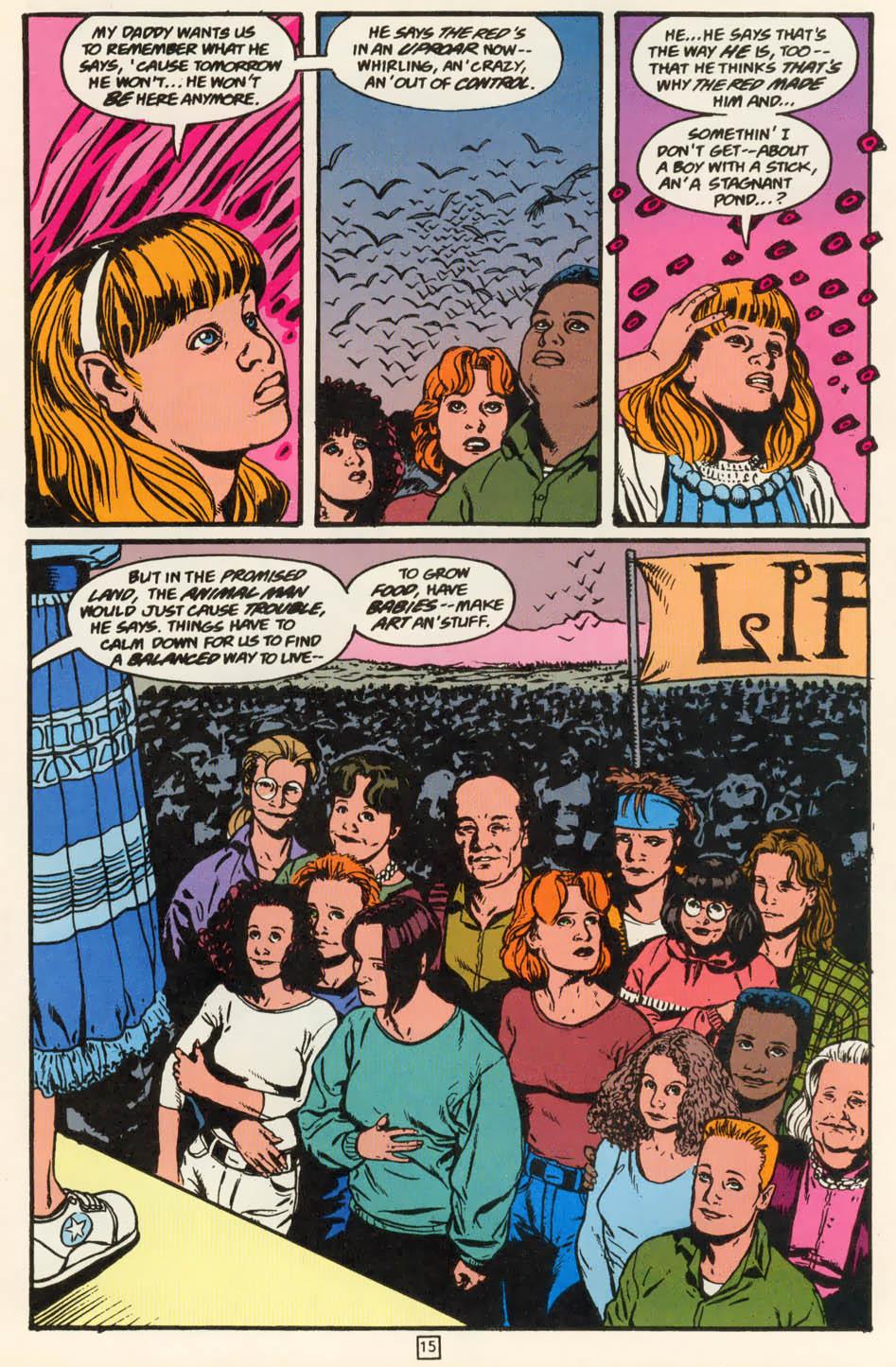 Read online Animal Man (1988) comic -  Issue #79 - 15