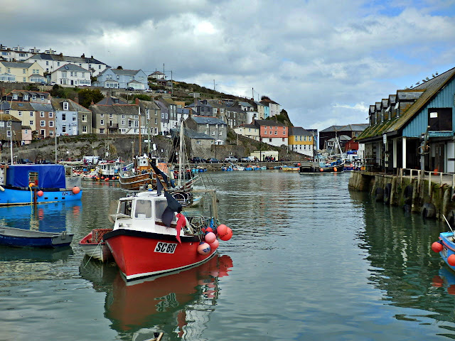 Boats, Mevagissey Harbour, Cornwall