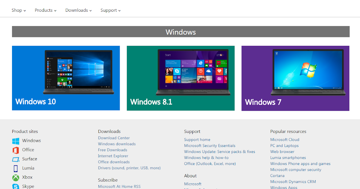 how to download any windows from microsoft