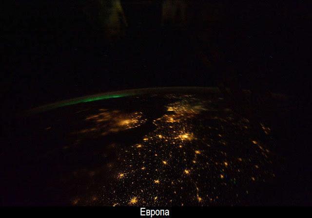 Ночная Земля из космоса 21