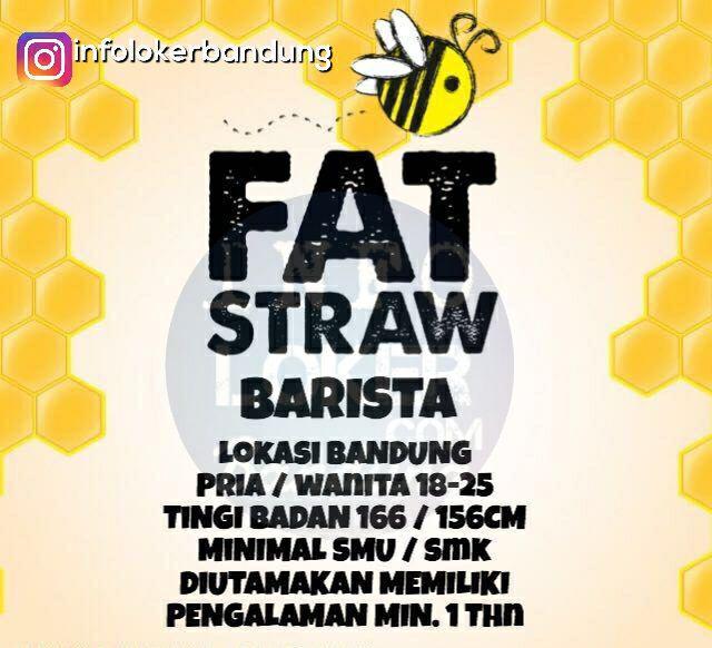 Lowongan Kerja Fat Straw Bandung Oktober 2017