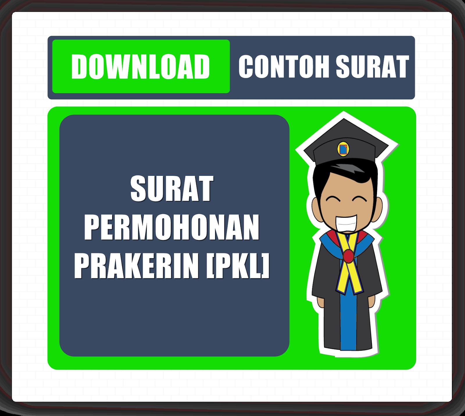 Download Contoh Surat Permohonan Praktek Kerja Industri Pkl Jenjang Smk Pandu Smk