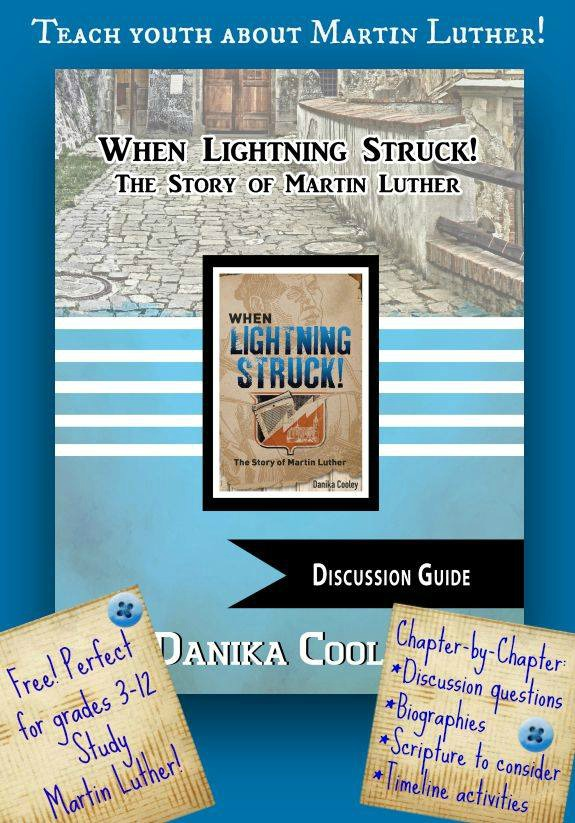 Discussion guide for When Lightning Struck, a book about Martin Luther