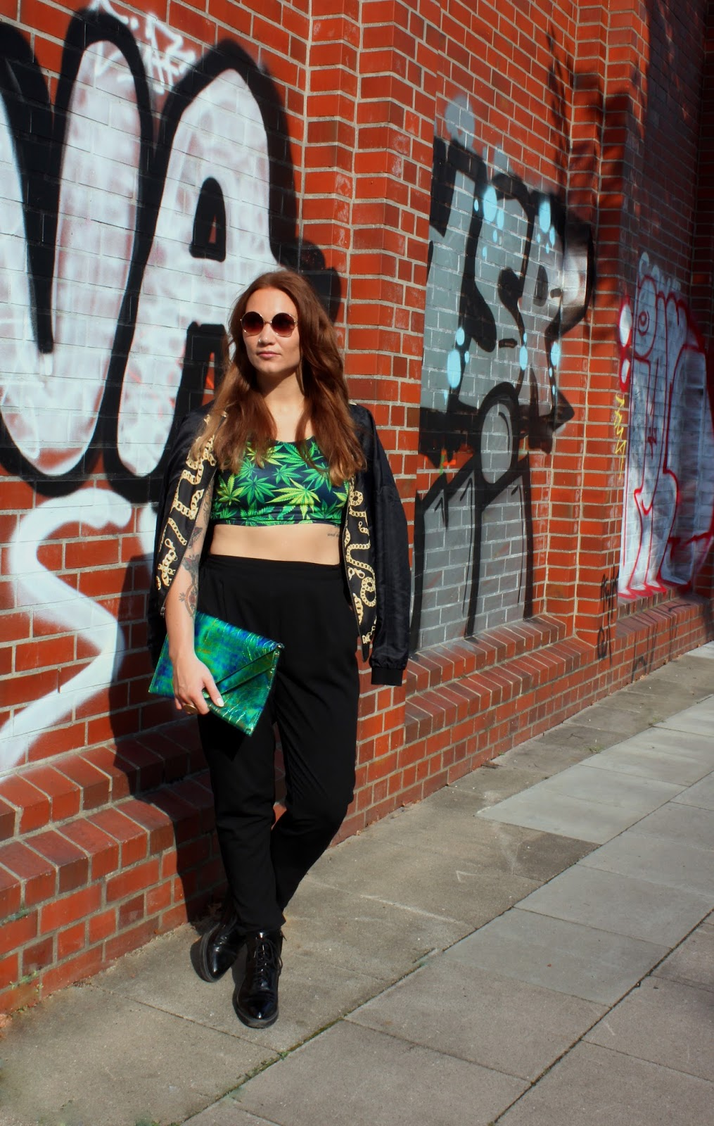 Fashion People: Casual, urban and a bit scruffy with a splash of hip hop - Vanessa