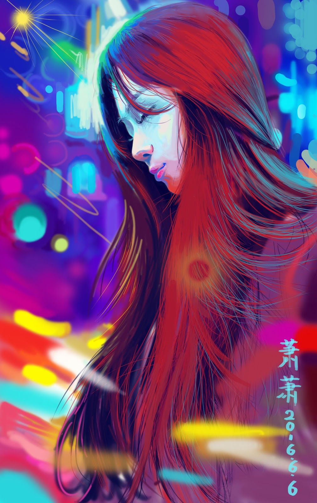Beautiful Illustrations by Feng Xiao
