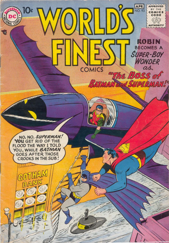 Read online World's Finest Comics comic -  Issue #93 - 1