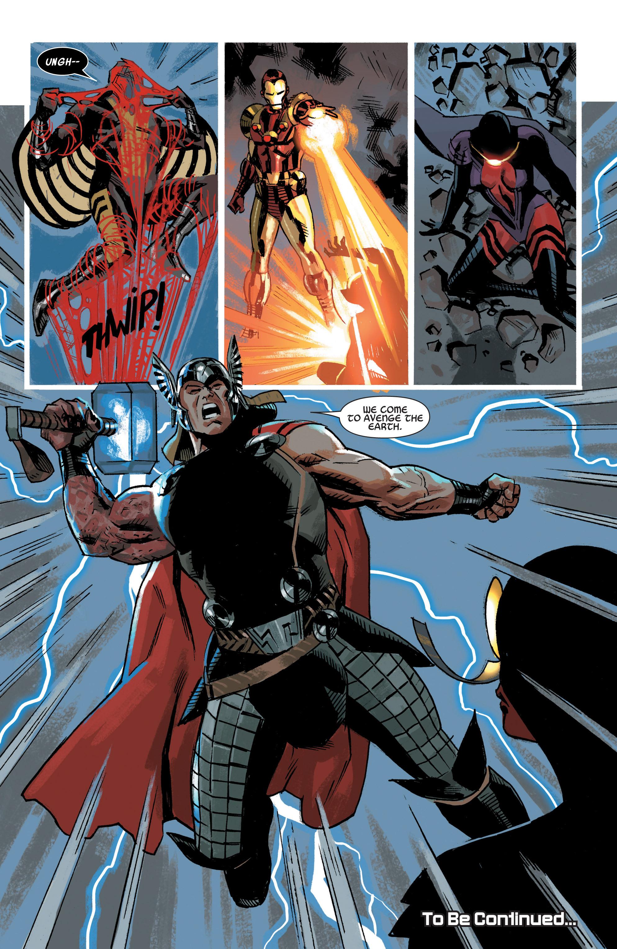 Read online Uncanny Avengers (2012) comic -  Issue #19 - 22