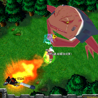 naruto castle defense 6.0 Toad Oil Flamethrower