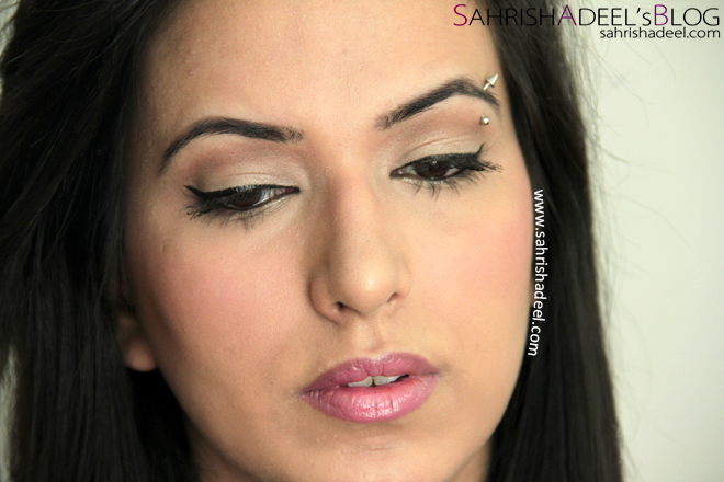 Simple Birthday Makeup Look - February 2013