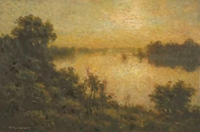 Канадский художник. Martin Blanchet