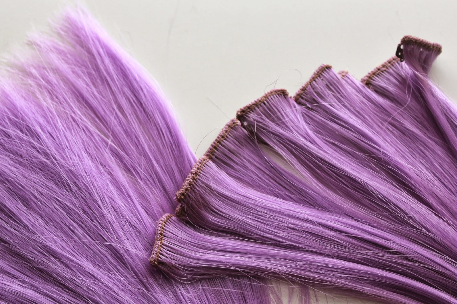 Wonderland Wigs | Purple Hair Extensions | Review - Beauty ...