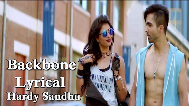 Backbone Lyrics & Video | Hardy Sandhu, Backbone Song Wallpaper