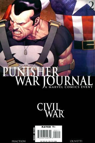 Civil War: Punisher War Journal #2 PDF