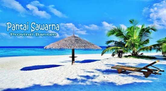 Pesona Pantai Sawarna Banten