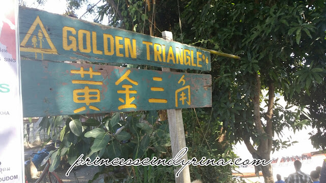 signboard of Golden Triangle