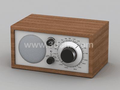 free 3d model am radio