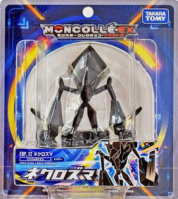 Necrozma figure hyper size Takara Tomy MONCOLLE EX EHP 12 package