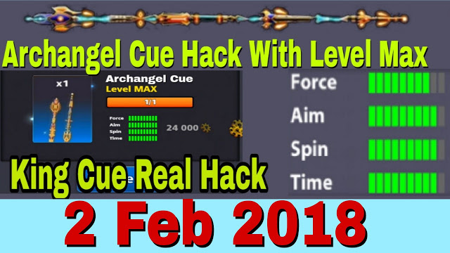 8 Ball Pool Archangel Cue With Level Max Mod v3 12 4 ~ Mobo Modz