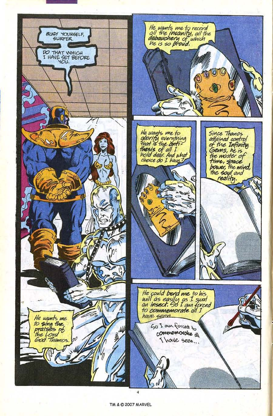 Read online Silver Surfer (1987) comic -  Issue #56 - 6