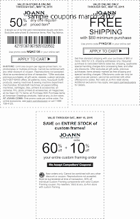 free Joann coupons for march 2017