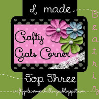 Top 3 Crafty Gals Corner challenge nº85