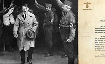 """ΣΟΚΑΡΕΙ η διαθήκη του Χίτλερ! """"Δεν ήθελα τον πόλεμο. Όλα τα ξεκίνησαν οι…"""""""