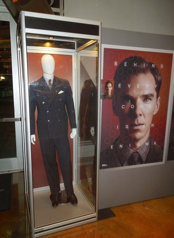 Mark Strong The Imitation Game film costume