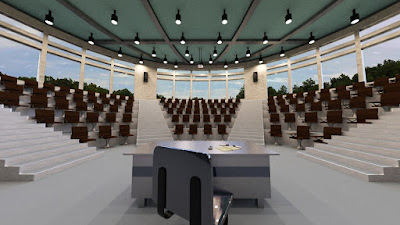Lecture Hall with Props