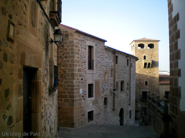 Lateral de Iglesia de San Francisco Javie en Cáceres