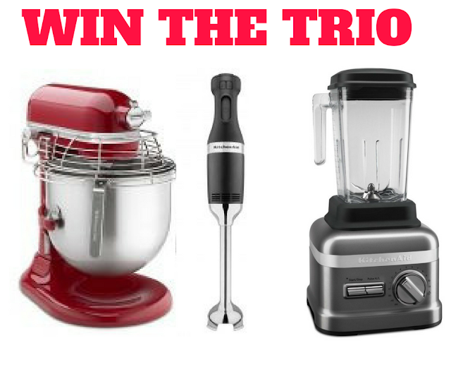 WIN a KitchenAid Commercial Trio
