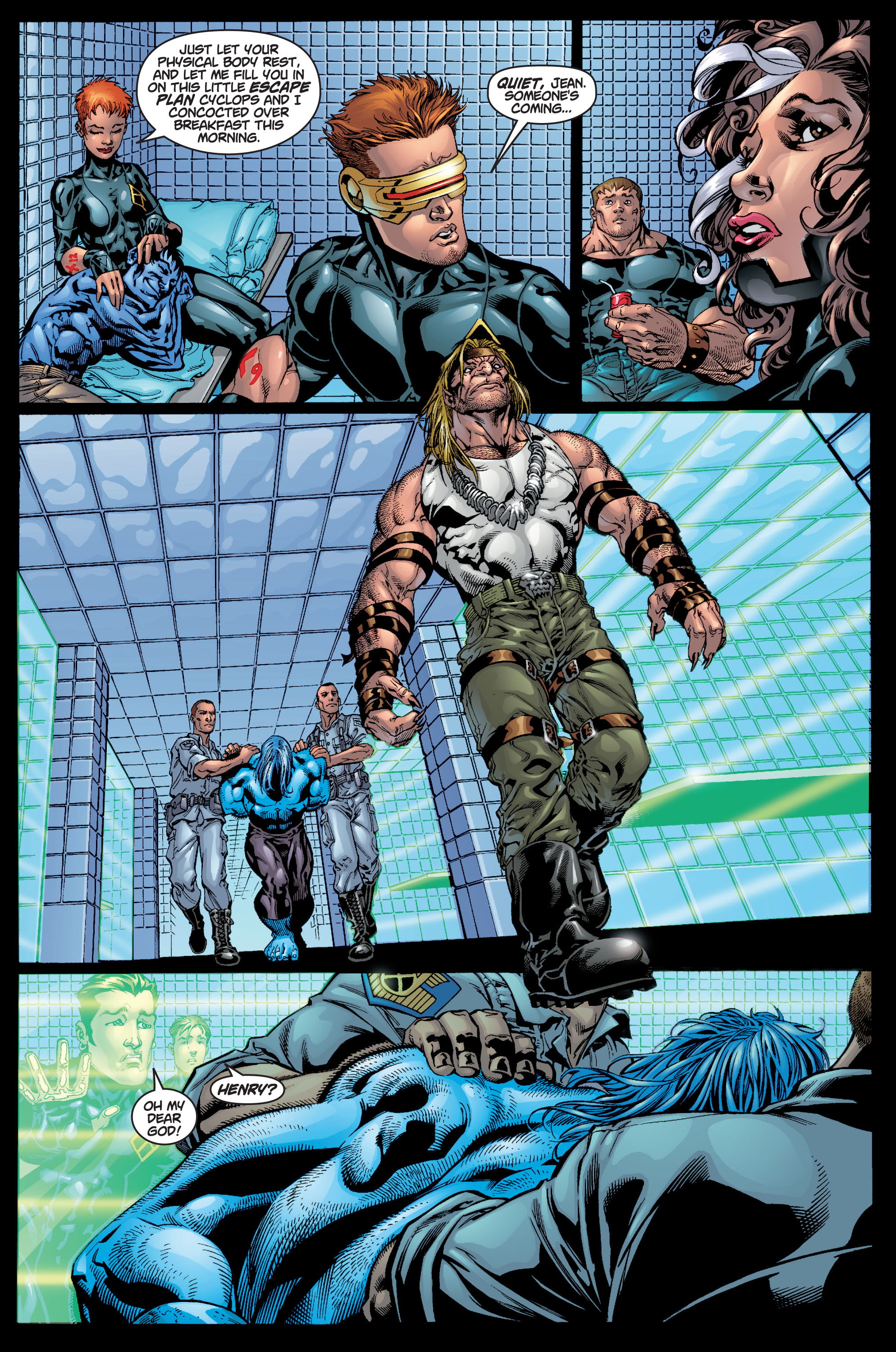 Read online Ultimate X-Men comic -  Issue #9 - 20