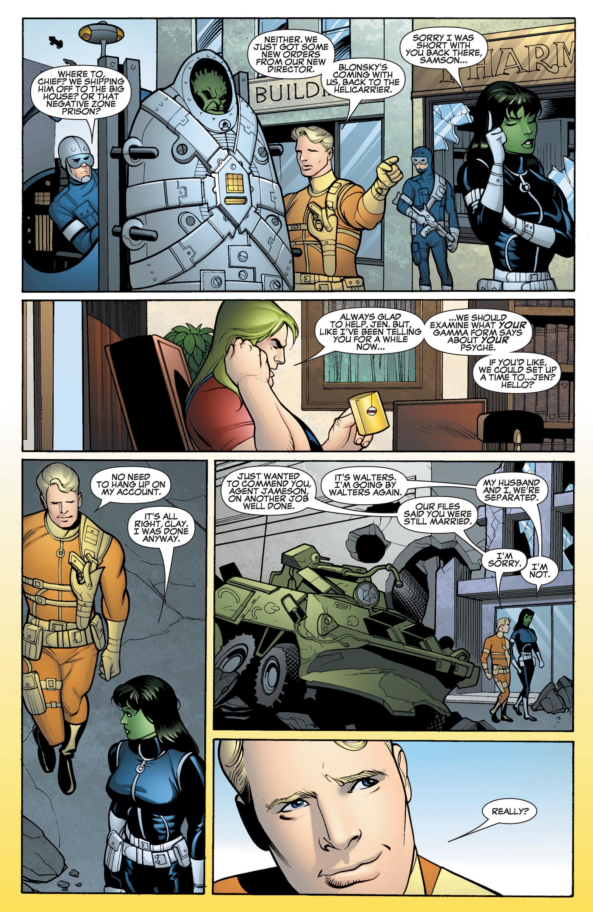 Read online She-Hulk (2005) comic -  Issue #15 - 22