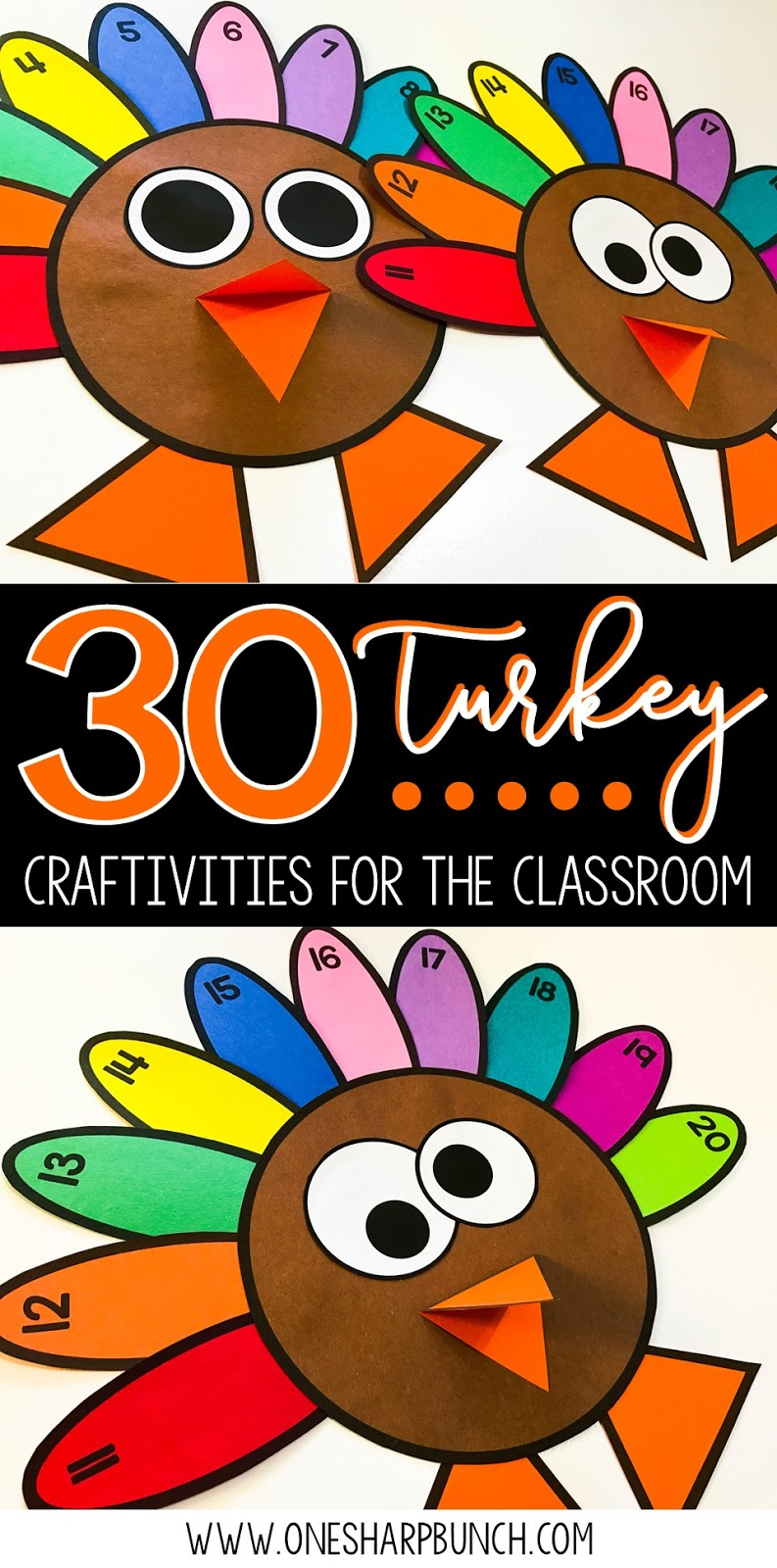 Easy DIY Turkey Crafts For Your Classroom Including FREE Activities Headband