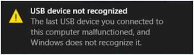 "Cara Memperbaiki Masalah ""USB Device Not Recognized"" Di Windows"