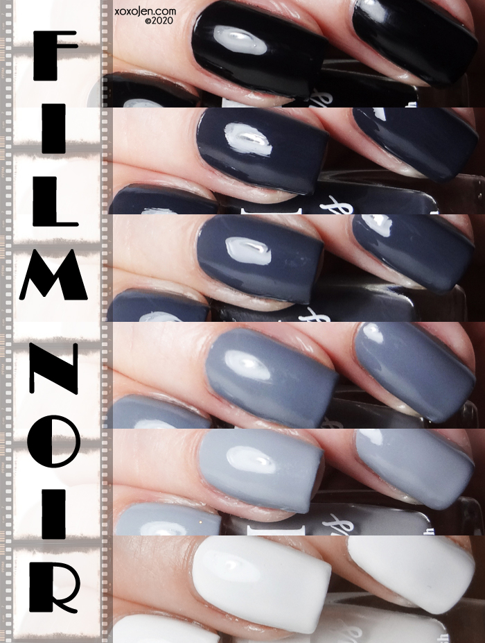 xoxoJen's swatch of Blush Film Noir