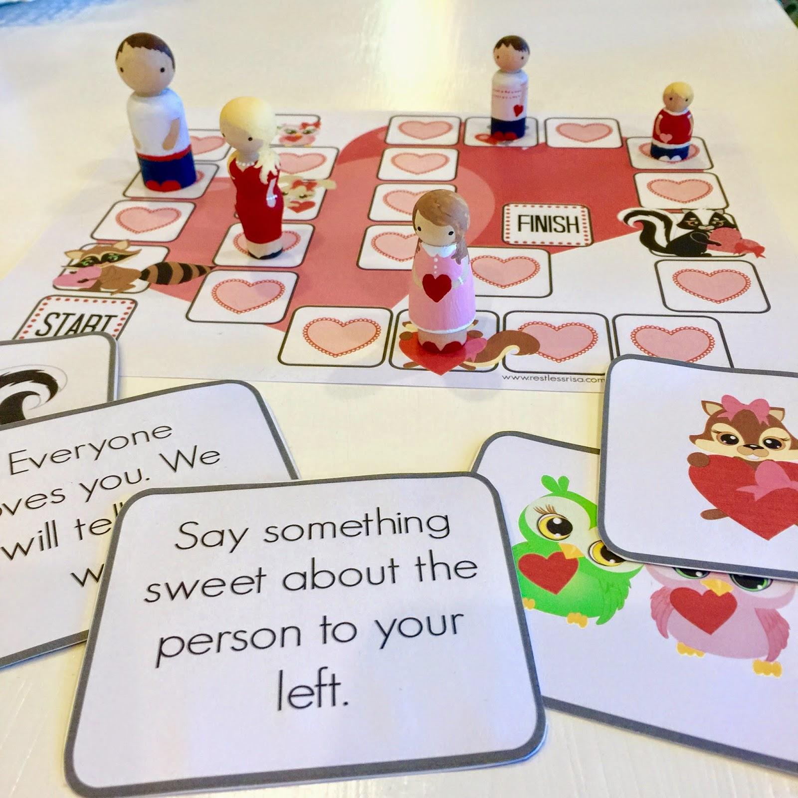 Restlessrisa Free Printable Valentine Game