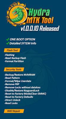 HYDRA TOOL MTK Module V1 0 0 10 Setup Download | AppMarsh
