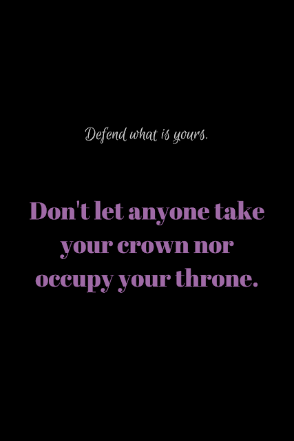 Defend What is Yours