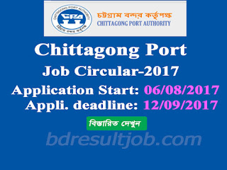 Chittagong Port Authority Motor Driver Job Circular