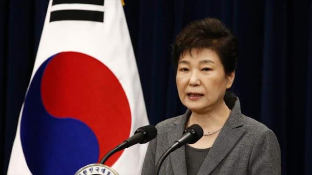 Parlamento surcoreano confirma fecha de 'impeachment' a Park