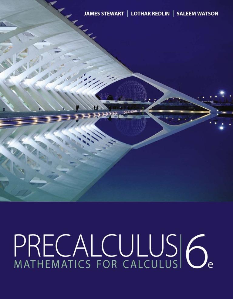 Precálculo: Matemáticas para el cálculo, 6ta Edición – James Stewart